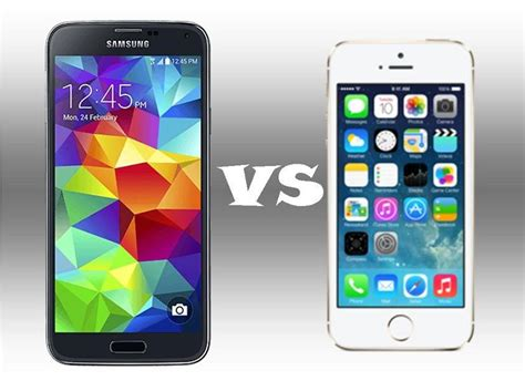samsung galaxy s5 vs iphone 5s iphone iphone 5 vs samsung galaxy s5