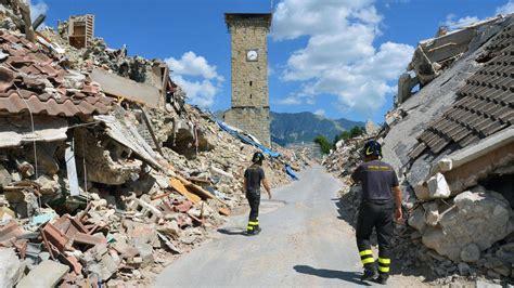italien erdbeben mit staerke  erschuettert eine region