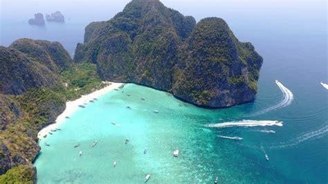Ko Phi Phi Islands, Thailand In 4k Drone, Music Video