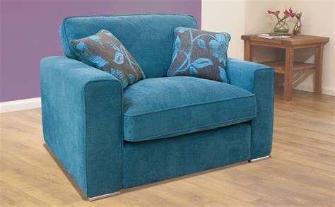 Buoyant President Teal Fabric Sofa Beds