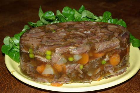 terrine de queue de boeuf en gel 233 e 233 pic 233 e balade gourmande de c 233 cile