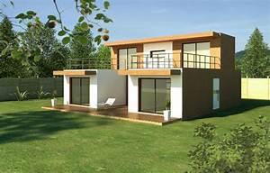 Maison Modulaire Bois : module home maison modulaire en bois urbanews ~ Melissatoandfro.com Idées de Décoration