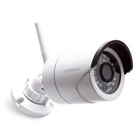 avidsen 233 ra de surveillance ext 233 rieure ip fixe wi fi hd 720 pixels and play 123281