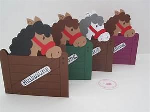 Kindergeburtstag 4 Jahre Ideen : einladungen einladungskarten kindergeburtstag pferde ein designerst ck von bagiolo bei ~ Whattoseeinmadrid.com Haus und Dekorationen