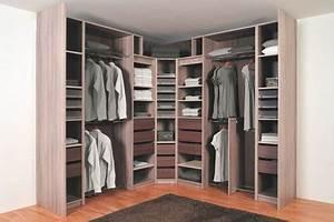 Amenagement Dressing Angle : am nagement dressing la cl pour le r ussir mission maison ~ Premium-room.com Idées de Décoration