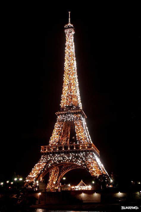 eiffel tower sparkling  al blackford