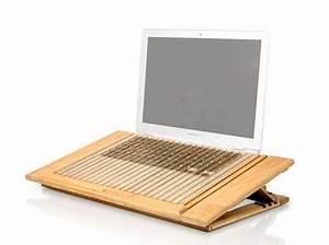 Support Pour Pc Portable : support pour pc portable en bambou mobilier accessoires bambou macally refroidissement support ~ Mglfilm.com Idées de Décoration