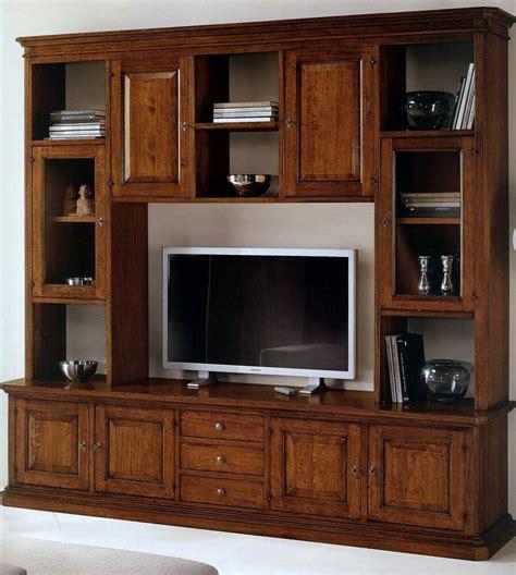 ebay mobili soggiorno parete mobile soggiorno libreria vetrina in legno massello
