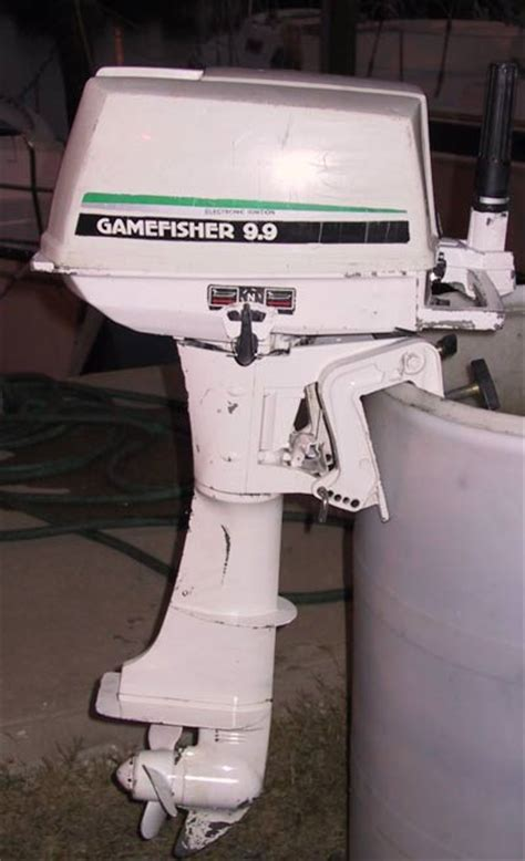Boat Motors At Sears by Used 9 9 10 Hp Sears Gamefisher Outboards Boat Motor For Sale