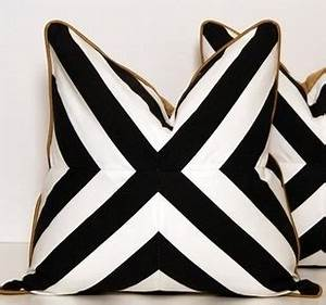 black white gold graphic pillows need black white With black white and gold decorative pillows