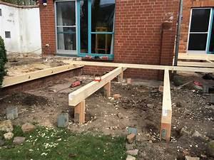 Fundament Für Terrasse : holzterrasse unterkonstruktion haloring ~ Yasmunasinghe.com Haus und Dekorationen