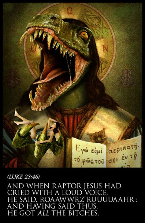 raptor jesus uncyclopedia  content  encyclopedia