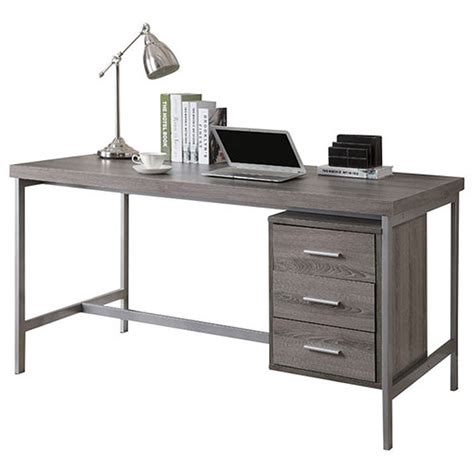 Modern Desks  Brenden Gray Washed Desk  Eurway Modern