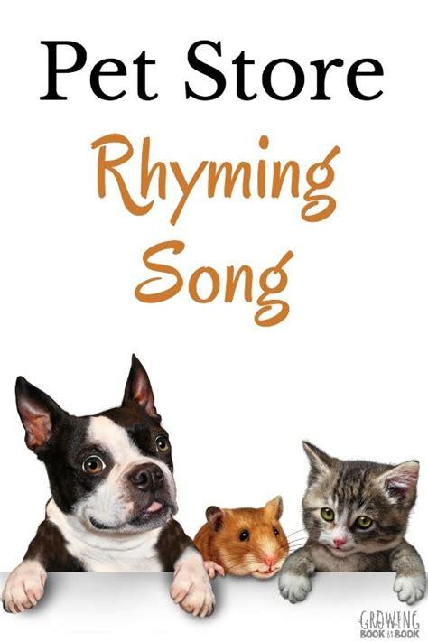 dog songs for preschoolers pet rhyming song phonological 783