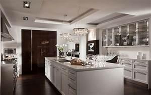 8 idees deco design pour concevoir une cuisine moderne With idee deco cuisine avec cuisine moderne design