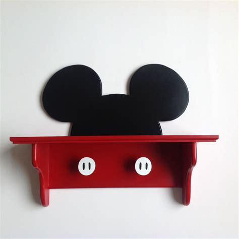 chambre complete mickey mickey mouse wall deco shelf handmade by ten cr with