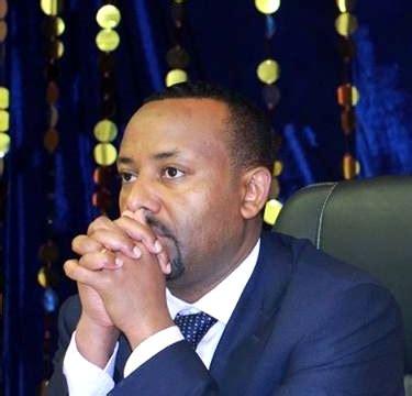 ethiopia  prime minister dr abiy ahmed ali