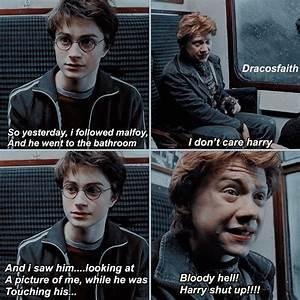nO, HARRY, GO O... Drarry Book Quotes