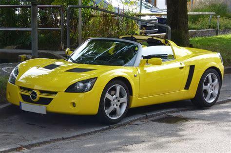 Opel Gt Wiki by Opel Speedster