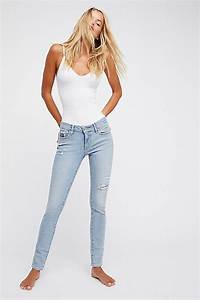 Levi S 711 Skinny Jeans Free People