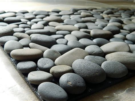 Pebble Doormat by Bath Mat