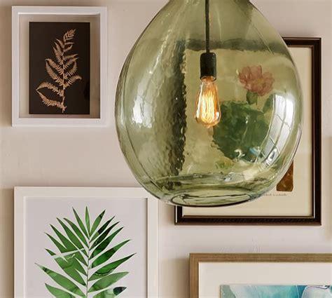 Clift Oversized Glass Pendant   Pottery Barn
