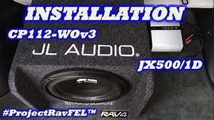 Installation  Jl Audio Jx500  1d Amp  U0026 12 U0026quot  Sub Enclosure