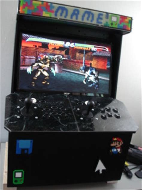 Mame Arcade Cabinet Kit by Diy Arcade Cabinet Kits More Cabinet 3