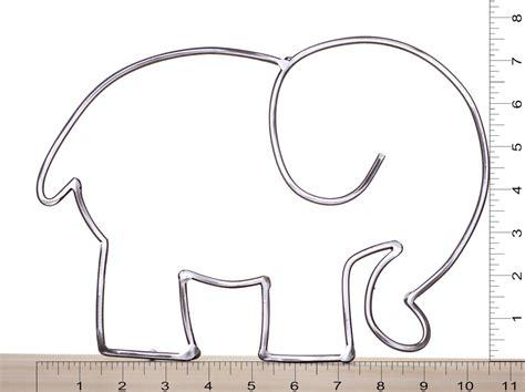 Elephant Template Metal Elephant Elephant Outline Elephant Sculpture