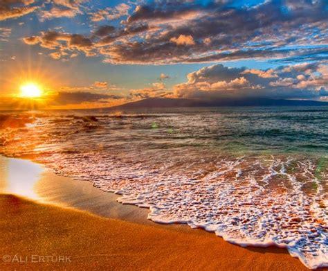 sunset hawaii beach wallpapers  wallpapersafari