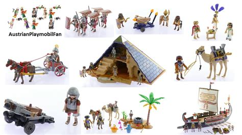 Alle Playmobil History Spielsets 2016