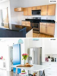 kitchen white makeover before and after With kitchen colors with white cabinets with oil change window stickers