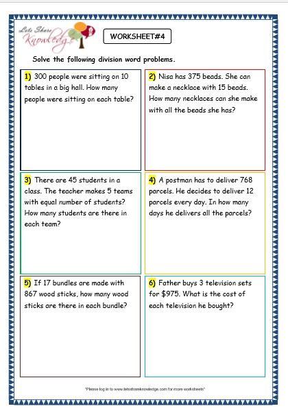 all worksheets 187 problem solving worksheets for grade 3