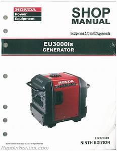 Honda Eu3000is Generator Shop Manual