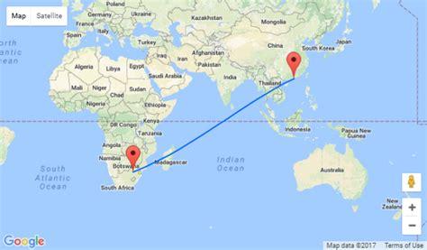 qatar airways hong kong  south africa