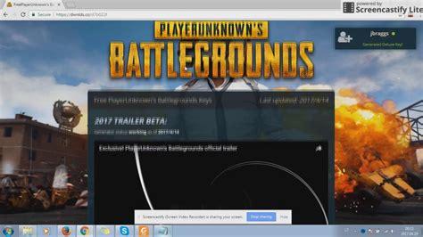 pubg cd key how to get free playerunknown s battlegrounds doovi
