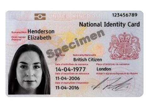 Government Unveils Uk Citizen Id Card Zdnet