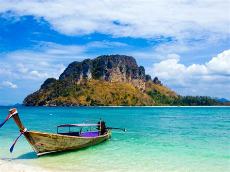 Thailand Island Beautiful Scenery Hd Wallpaper 7448 ...