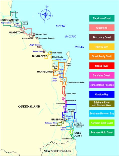 nautical colors boating maps maritime safety queensland