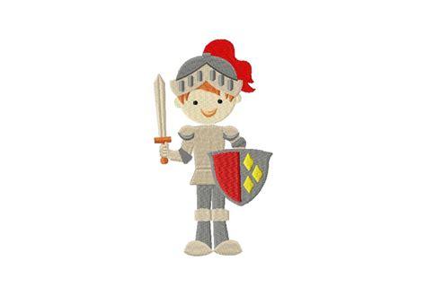 Knight In Shining Armor Machine Embroidery Design