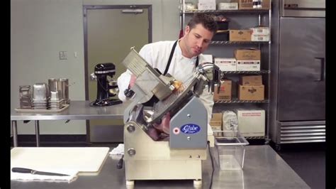 kitchen safety preventing cuts  meat slicers youtube
