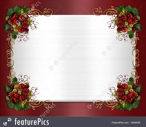 templates christmas border classic stock illustration