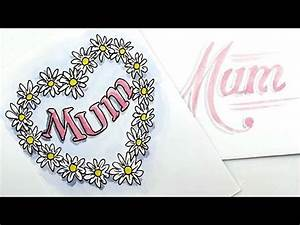 How to draw a great Mother's Day Card - spoken tutorial ...