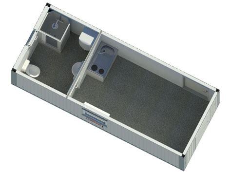 container mieten wohncontainer  dusche wc typ