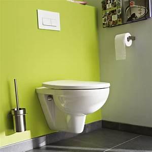 Pack WC Suspendu Bti Universel Club Design 2 Pieds