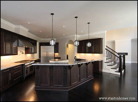 types of kitchen islands custom home building and design home building tips 6450