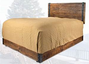 old hickory brooklyn reclaimed platform bed With brooklyn bedding locations