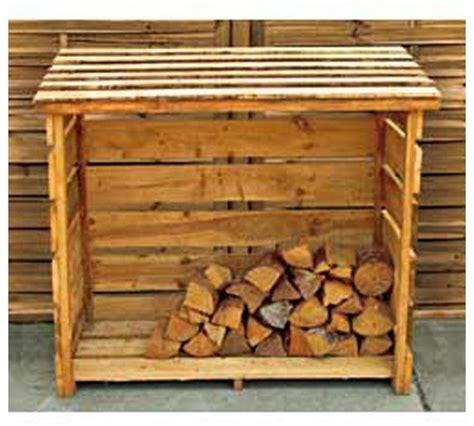 buy garden wooden log store at argos co uk your online
