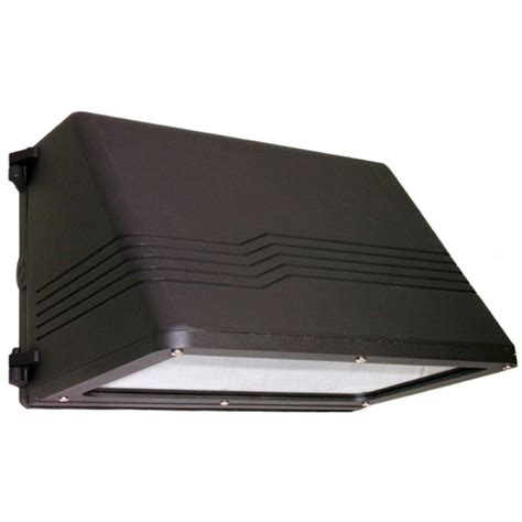 atg electronics 60 watt outdoor black led wall pack