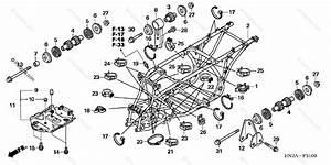 Honda Atv 2006 Oem Parts Diagram For Frame